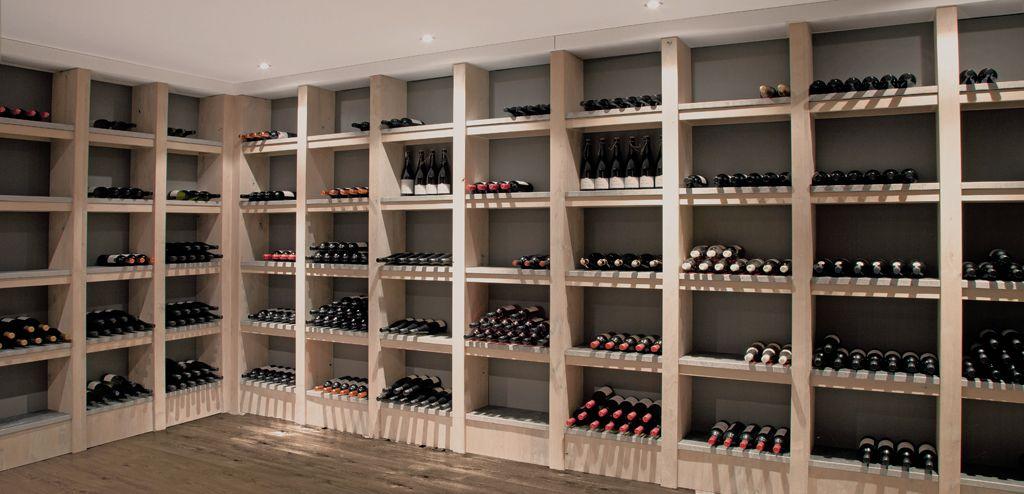 Wijnkelder design, wijnkamer ontwerpen, inrichting wijnkelder op maat
