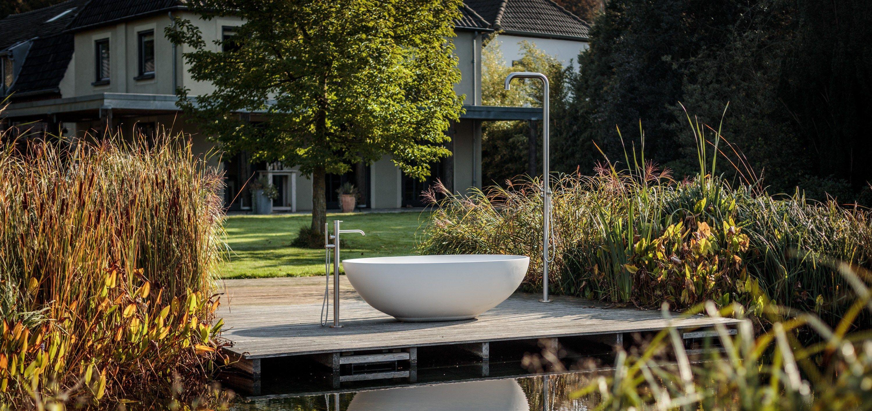 vrijstaande luxe baden solid surface b dutch cuiijk moderne badkamers