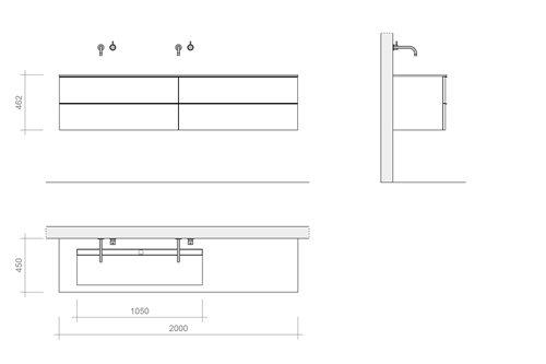 webshop b dutch design badkamermeubelen serie napoli ook