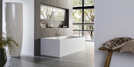 Ligbad LB Rectangular Square 1690 mm. Ligbaden van B Dutch. Dutch design ligbaden, badkuipen, losstaand baden, bad vrijstaand, vrijstaand ligbad en losstaande baden. Vervaardigd van topkwaliteit Solid Surface Corian, verkleurt niet. Ook op maat te maken.
