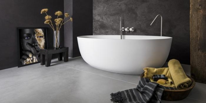 Ligbad LB Oval Round 1700 mm. Ligbaden van B Dutch. Dutch design ligbaden, badkuipen, losstaand baden, bad vrijstaand, vrijstaand ligbad en losstaande baden. Vervaardigd van topkwaliteit Solid Surface Corian, verkleurt niet. Ook op maat te maken.