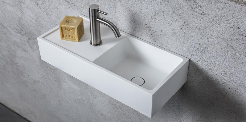 Toilet Wasbak Met Hout.B Dutch Avola Toiletfontein Rechts 400