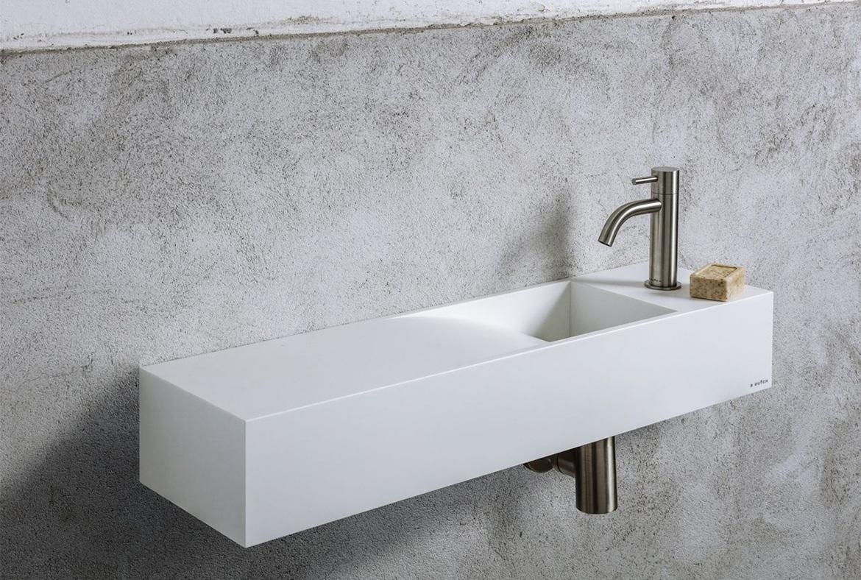 Kleine Waskom Toilet : Toiletfonteinen wastafel toilet fontein wasbak waskom corian