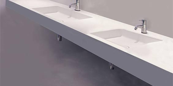 Wastafel Op Maat : Webshop b dutch design wastafels topkwaliteit corian ook op maat