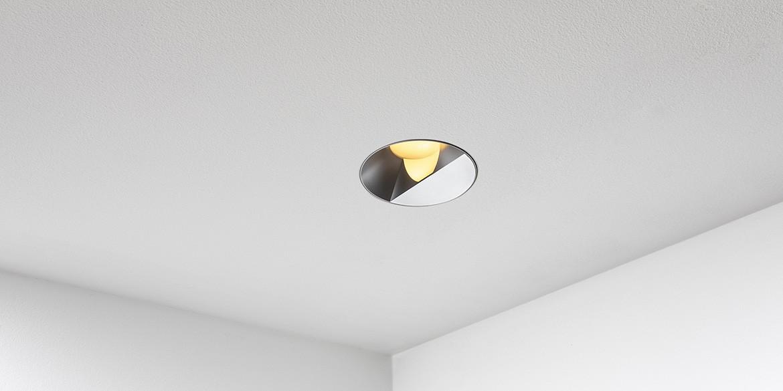 B dutch trimless spot reflax round s b dutch for Badkamerverlichting led