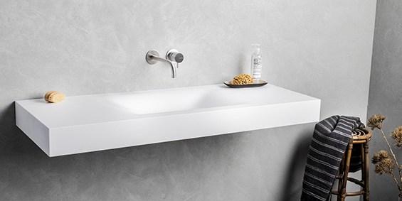 Wastafel op maat? b dutch design collectie corian wastafels!