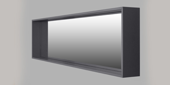 Spiegelkast voor in de badkamer. Design siegelkast badkamer collectie van B Dutch. Combineer onze badkamermeubelen met onze spiegelkasten!