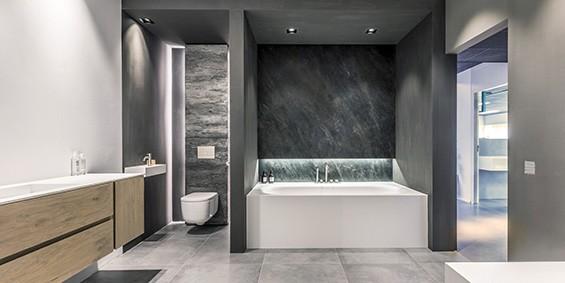 Keuken Badkamer Showroom : B dutch luxe badkamers rvs kranen keukens en leefruimtes dutch