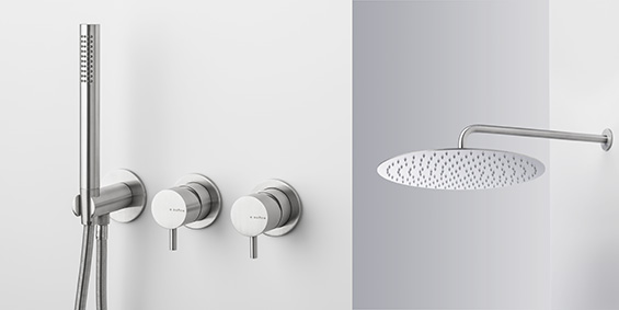 B DUTCH badkamermeubels, wastafels, toiletfonteinen, RVS kranen. B DUTCH is een producent van hoogwaardige keukens en badkamers incl maatwerk direct af-fabriek