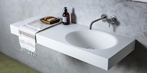 B DUTCH badkamermeubels, wastafels, toiletfonteinen, RVS kranen. B DUTCH is een producent van hoogwaardige keukens en badkamers incl maatwerk direct af-fabriek.