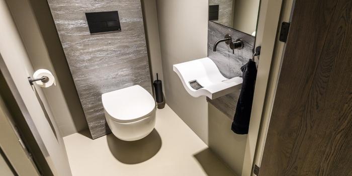 B DUTCH mat wit toilet MILK