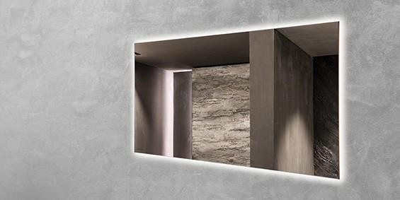 B DUTCH badkamerspiegel met led verlichting, ISLE LED. B DUTCH is een producent van hoogwaardige keukens en badkamers incl maatwerk direct af-fabriek tegen lage prijzen. Badkamermeubels, ligbaden, wastafels, douchebakken, toiletfonteinen, RVS kranen, LED verlichting, waanzinnige keramische tegels in alle formaten.