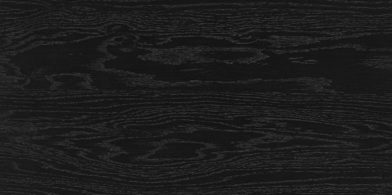 Massief eikenhout gelakt Charcoal. De meubelen van B DUTCH, zoals de badmeubelen, kasten e.d. kunnen worden gemaakt van diverse houtsoorten.