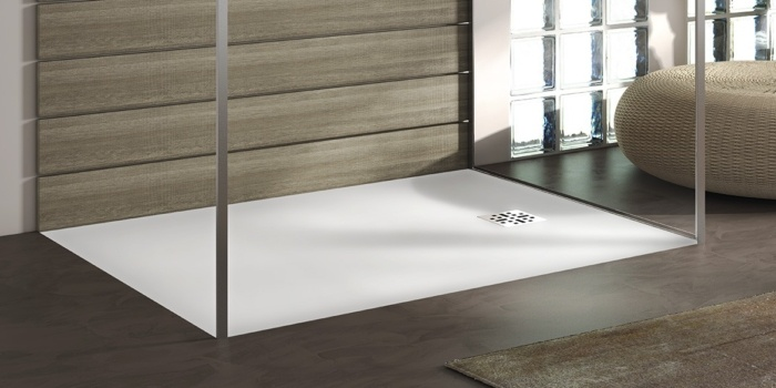 B DUTCH douchebak. Grote collectie douchebakken, douchevloeren, lage, platte douchebakken van 3 cm hoog, diverse afmetingen.