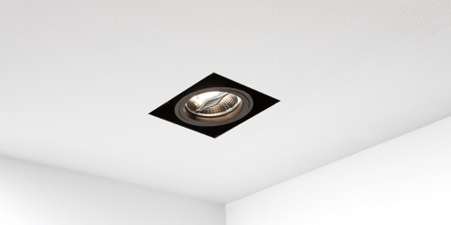 Trimless spot, inbouwspot led badkamerverlichting keukenverlichting badkamer keuken spot B DUTCH trimless spot Viking AR70 black dim to warm