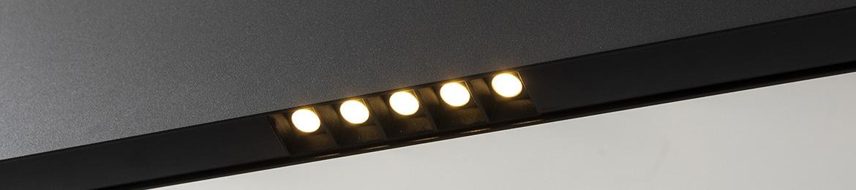 Moderne design hanglamp zwart Linear Light B DUTCH