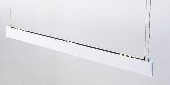 Moderne design hanglamp wit Linear Light B DUTCH