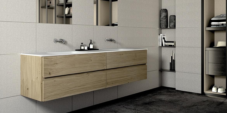 Bari badkamermeubelen van B DUTCH. Luxe badkamerkasten, badmeubel, wastafelmeubel Bari is leverbaar in diverse maten en uitvoeringen, ook op maat