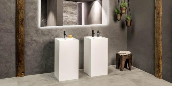 Waszuil B DUTCH. Mat witte waszuilen vervaardigd van topkwaliteit Solid Surface Corian. Mat witte waszuil. U koop waszuilen, wastafels, waskommen en alle andere badkamer interieurobjecten rechtstreeks bij de designer en fabriek in Cuijk.